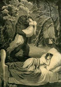Tatiana Larina's Dream by Ivan Volkov (1891)